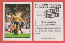 Oxford United Dean Saunders Wales